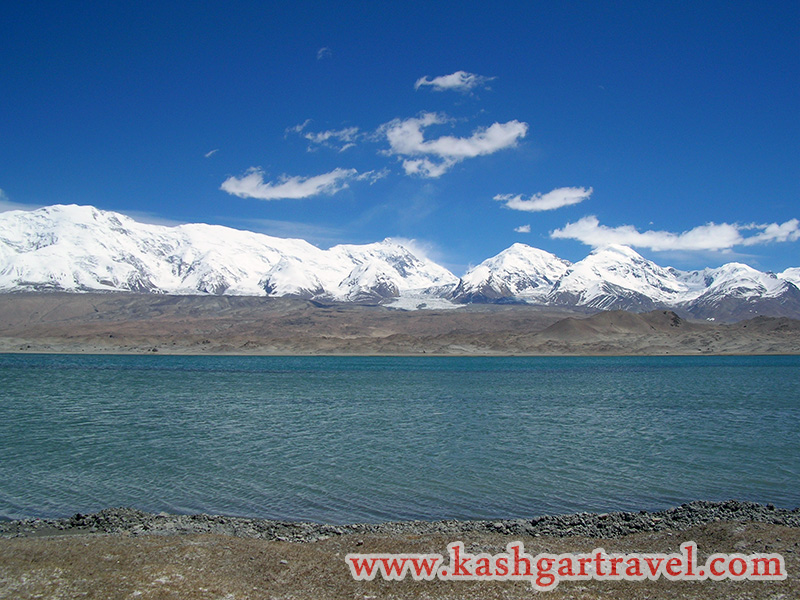 Konger Mountain and Karakul Lake