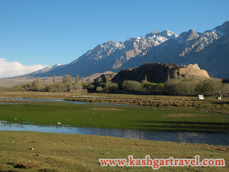 Tashkurgan Stone City and Grassland